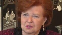 Former Latvian President Vaira Vike-Freiberga: 'Ukrainians Have Sold Their Souls For Russian Gas'