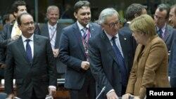 Перед началом экстренного саммита ЕС. 23 сентября 2015 г.