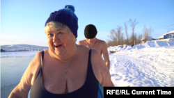 Siberian Ice Swimmer Shows How To Love Life At 70