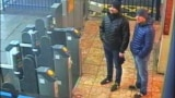U.K. -- Metropolitan Police statement -- Novichok -- suspects Aleksander Petrov and Ruslan Boshirov at 16.11 on Saturday, 3 March at Salisbury train station about to catch a train back to London.