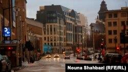 Улицы Брюсселя все выходные были пустынны