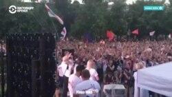Тысячи людей пришли на агитационные митинги Тихановской в шести городах. Как это было