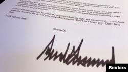 Письмо Трампа Эрдогану