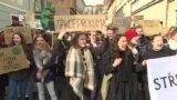 Из-за чего несколько тысяч чешских студентов вышли на митинг вместо занятий