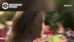 Мунициальный депутат рассказывает, как силовики ей разбили голову на Тверской