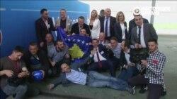 Жители Косово радуются приему страны в УЕФА