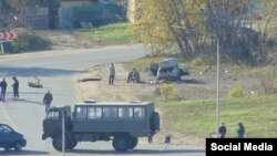 Операция по захвату террористов в Нижнем Новгороде, фото Александр Худяков