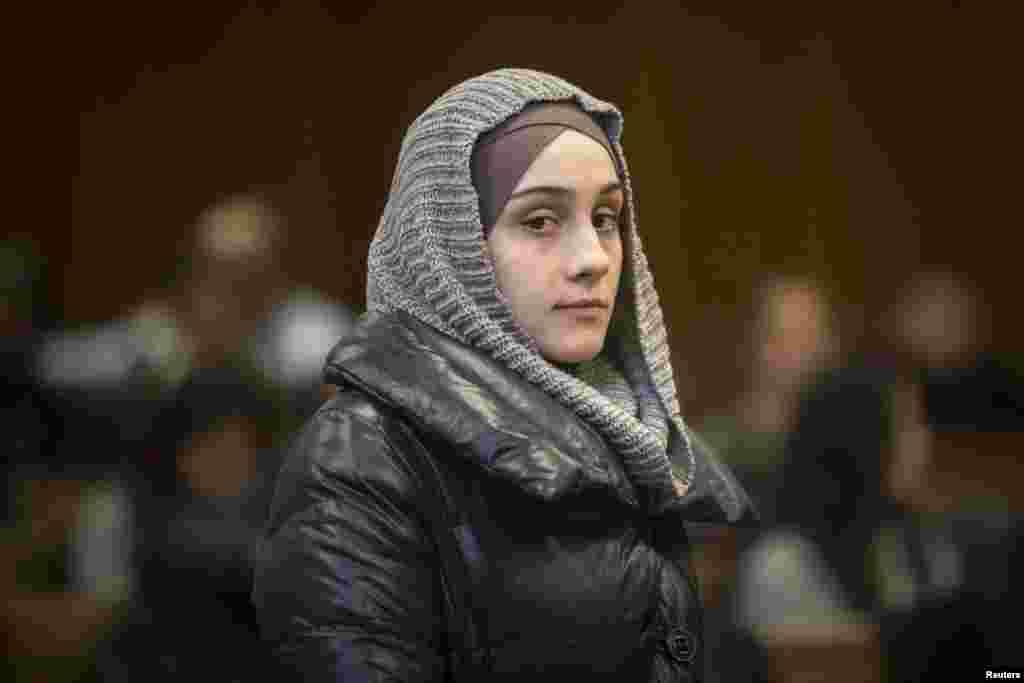 Айлина, сестра братьев Царнаевых, в Нью-Йорке в декабре 2014 года.