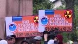 В Кыргызстане протестуют против добычи урана