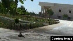 Окрестности мавзолея Хомейни, где произошло нападение