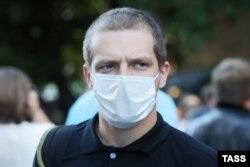 Сын погибшего Виталий Захаров, потерпевший по делу Ефремова. Фото: ТАСС