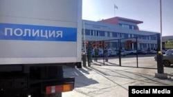 Обыски в здании крымскотатарского телеканала ATR 26 января 2015 г