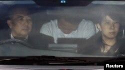"""Кацуя Такахаси, последний задержанный организатор теракта в метро Токио, член секты """"Аум Синрикё"""", 15 июня 2012"""