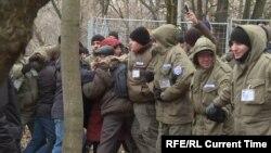 Протесты против сноса 37 домов в Кунцево