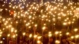 Tallinn, Estonia - People attend a torchlight procession organized by the far-right Estonian Conservative People's Party (EKRE) in Tallinn, Estonia February 24, 2019. REUTERS/Ints Kalnins/File Photo