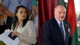 Как голосовали Тихановская и Лукашенко