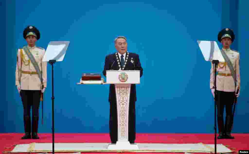 На церемонии 29 апреля 2015 года присутствовали члены правительства, депутаты парламента, судьи Верховного суда и члены Конституционного совета. Президентов зарубежных стран на инаугурации не было.