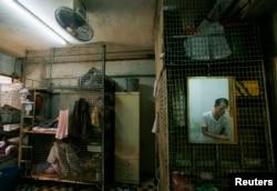Дома-клетки в Гонконге. Аренда даже такого жилища многим не по карману
