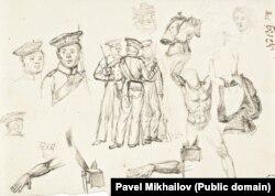 Наброски Михайлова