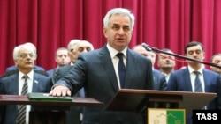 Президент Абхазии 2014 г