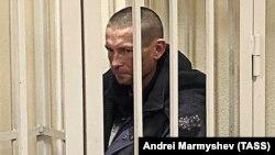 Евгений Александров в суде, 21 октября 2019