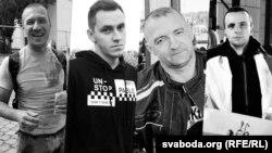 Слева направо: Александр Тарайковский, Александр Вихор, Геннадий Шутов, Роман Бондаренко