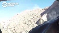 Пассажир вертолета в Кыргызстане снял на видео его крушение