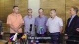 В Минск привезли четверых освобожденных украинских пленных