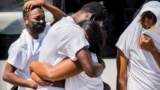 FILE PHOTO: Haitian migrants flown out of Texas border city arrive in Port-au-Prince