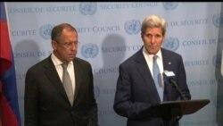 """Керри: """"мы договорились встретиться с военными"""""""