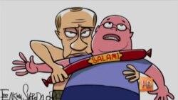 Карикатуристы любят Путина