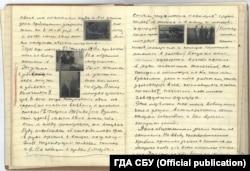 Записи Николая Боканя, которые он делал после Голодомора