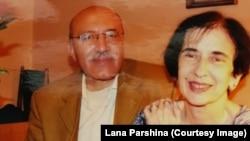 Хосим Бенсаад и Галина Джугашвили, внучка Сталина, фото из архива Ланы Паршиной