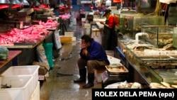 Рынок в Пекине. 11 сентября 2015 года