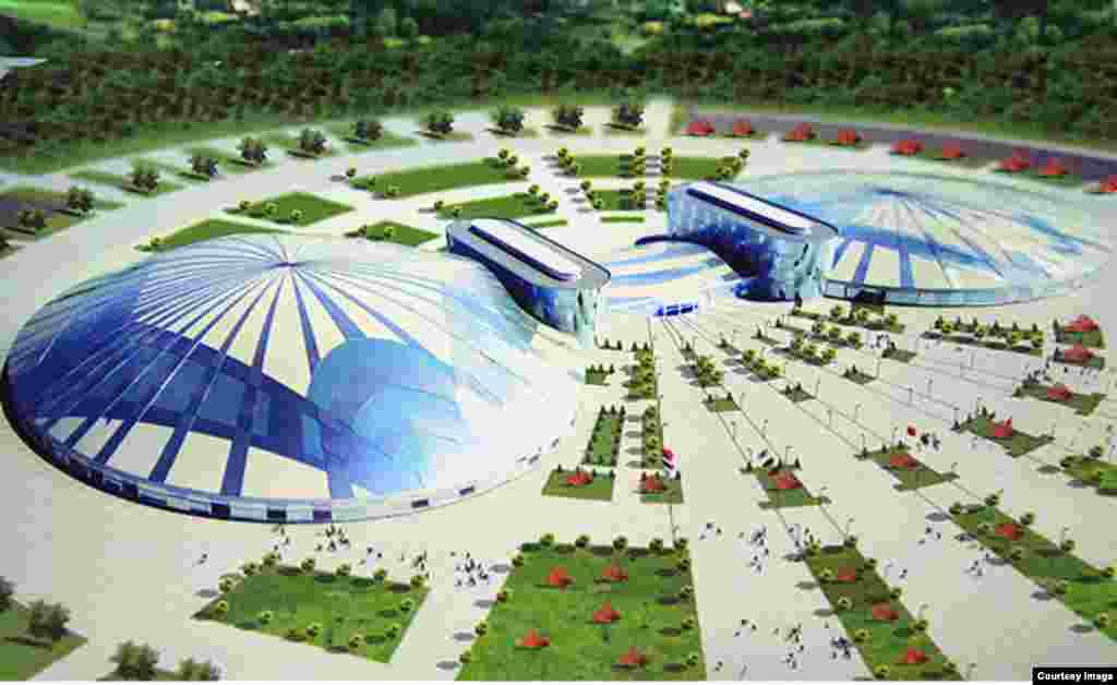 Так должны будут выглядеть будущие стадионы в Алма-Ате