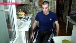 В Липецке инвалид семь лет добивается от властей пандуса