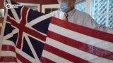 Коллекционер из Мэриленда собрал у себя дома 800 флагов США