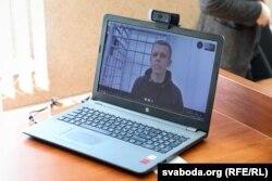 Владимир Гридин находится в СИЗО на улице Окрестина и участвовал в судебном процессе по скайпу