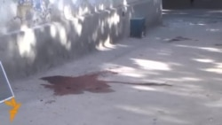 Видео с места перестрелки в Душанбе