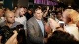 """""""Хочу вместе с вами сделать прорыв для Украины"""": Саакашвили вернулся в Киев"""