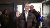 Студент Андрей Баршай: первые кадры на свободе