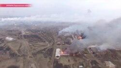 На свой страх и риск. Жители села, где взорвался склад с военной техникой, выносят припасы из дома сами