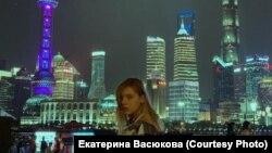 Татьяна Корянова, студентка факультета журналистики Сучжоуского университета (КНР)