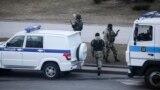 Белорусские силовики на улицах Минска, март 2021 года. Фото: БелаПАН via AP