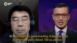 Interview With Former Kazakh Prime Minister Akezhan Kazhegeldin