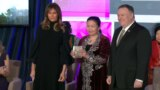 """Этническая казашка, бежавшая из Китая, получает премию """"За мужество"""" от госсекретаря Помпео"""