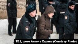Задержания мигрантов в Томске