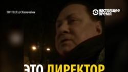 Блатной номер в исполнении директора московского театра