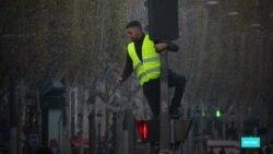 """Месяц """"желтых жилетов"""" во французских СМИ"""