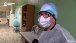 Репортаж из киевской больницы, куда поступают больные с коронавирусом